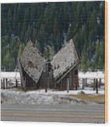 His And Hers Barn 1 Wood Print