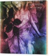 His Angels 2 Wood Print