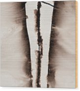 His Embrace Divine Love Series No. 1287 Wood Print