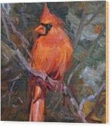 His Majesties Splendor Wood Print