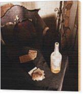 His Spirit Lingers Wood Print