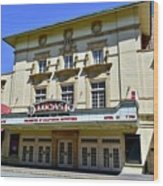 Historic 1920s Revived Lucas Theater Wood Print