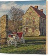 Historic Bethlehem Pennsylvania Wood Print