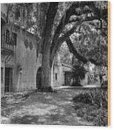 Historic Bok Gardens Home Wood Print