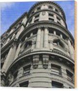 Historic Building Wood Print