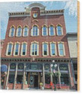 Historic Buildings Deadwood South Dakota Wood Print