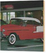 Historic Chevy Wood Print