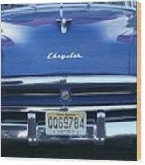Historic Chrysler Front End 2 Wood Print