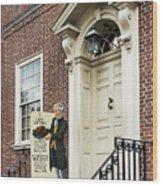 Historic City Tavern Wood Print