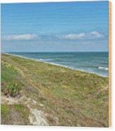 Historic Coast Wood Print