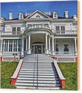 Historic Cone Manor Blue Ridge Parkway Wood Print