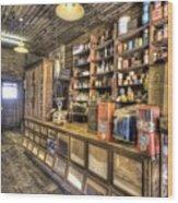 Historic General Store Wood Print