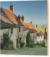 Historic Gold Hill Wood Print