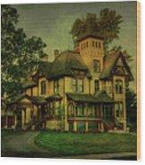 Historic Home Wood Print