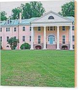 Historic Home Of James Madison Wood Print