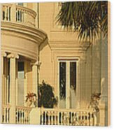Historic Home On Battery Street Wood Print