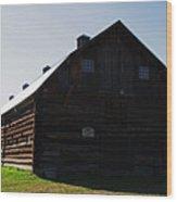 Historic Horse Barn Wood Print