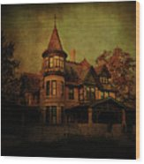 Historic House Wood Print