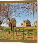 Fort Hancock Sandy Hook Nj In Spring  Wood Print