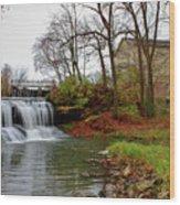 Historic Mill Wood Print