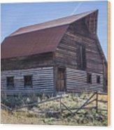 Historic More Barn Wood Print