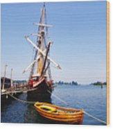 Historic St Marys City Wood Print