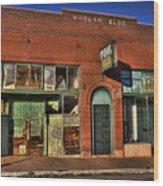 Historic Storefront In Bisbee Wood Print