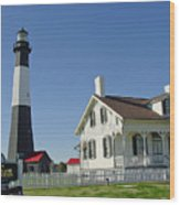 Historic Tybee Island Lighthouse II Wood Print