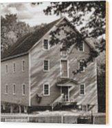 Historic Walnford Mill Wood Print