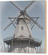 Historic Windmill Wood Print
