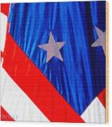 Historical American Flag Wood Print