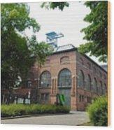 Historical Building Wood Print