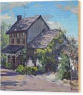 Historical House Ontario Wood Print