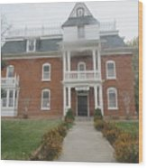 Historical Mormon House Wood Print