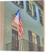 Historical Patriot Wood Print