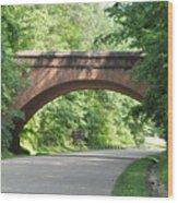 Historical Stone Arched Bridge Wood Print