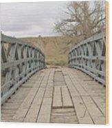 History Bridge Wood Print