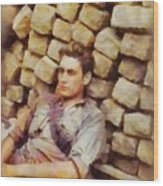 History In Color. French Resistance Fighter, Wwii Wood Print