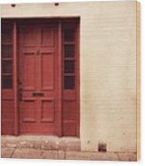 History's Doorway Wood Print