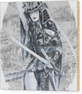 Hisuiko  Wood Print