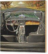 Hit The Road Wood Print