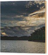 Hiwassee Lake From Hanging Dog Recreation Area Wood Print