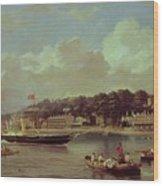 Hm Yacht Victoria Wood Print
