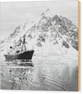 Hms Endurance Antarctic Ice Patrol Ship Wood Print