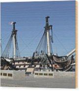 Hms Victory Portsmouth Wood Print