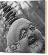 Ho Tai  Buddha Wood Print