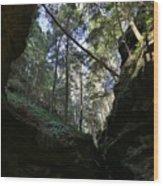 Hocking Hills Wood Print
