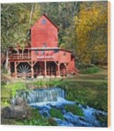 Hodgsons Mill  Wood Print