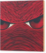 Hog Eyes 2 Wood Print