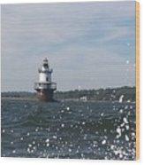 Hog Island Shoal Lighthouse Wood Print